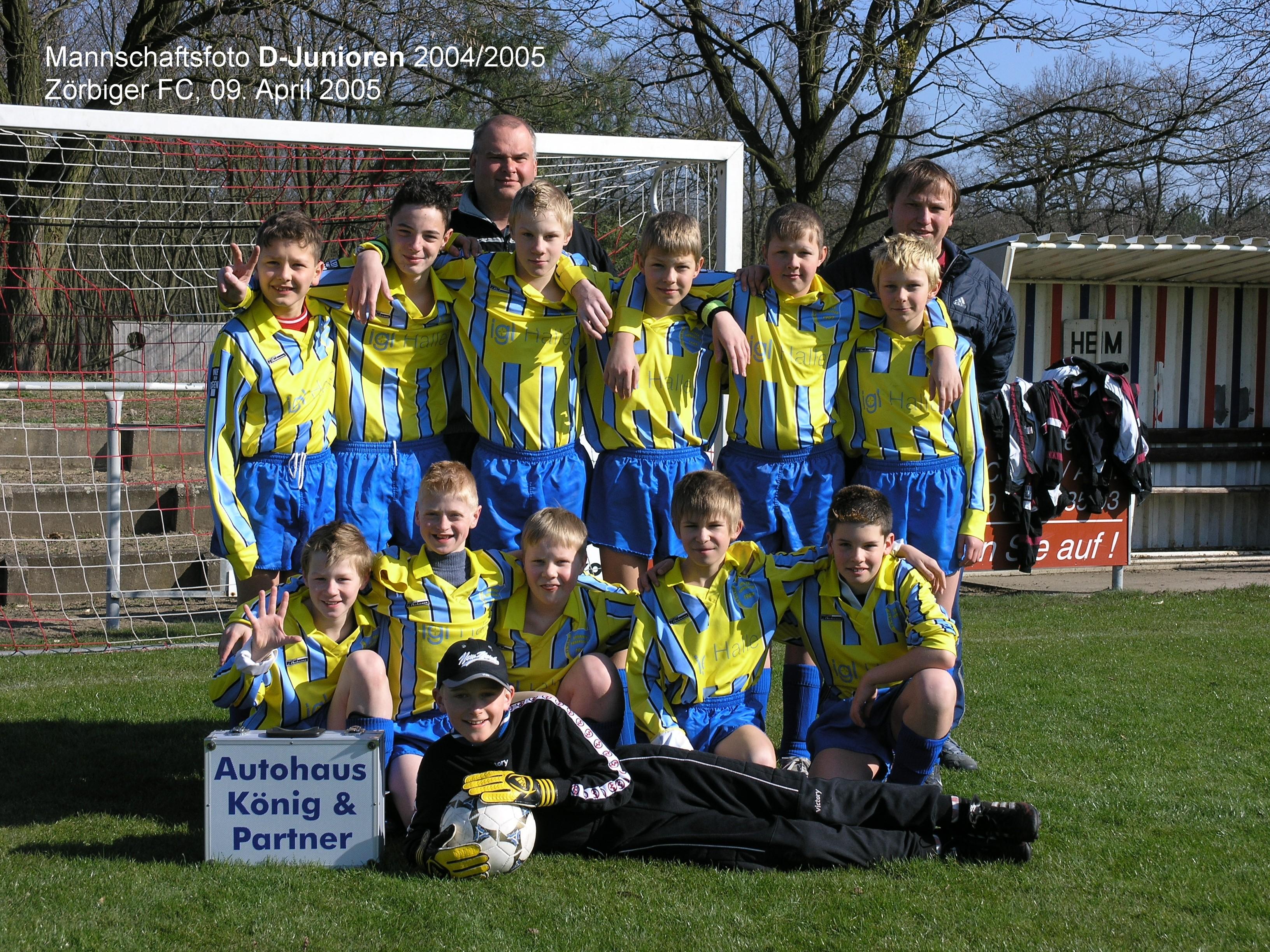 D-Jugend Saison 2004/05