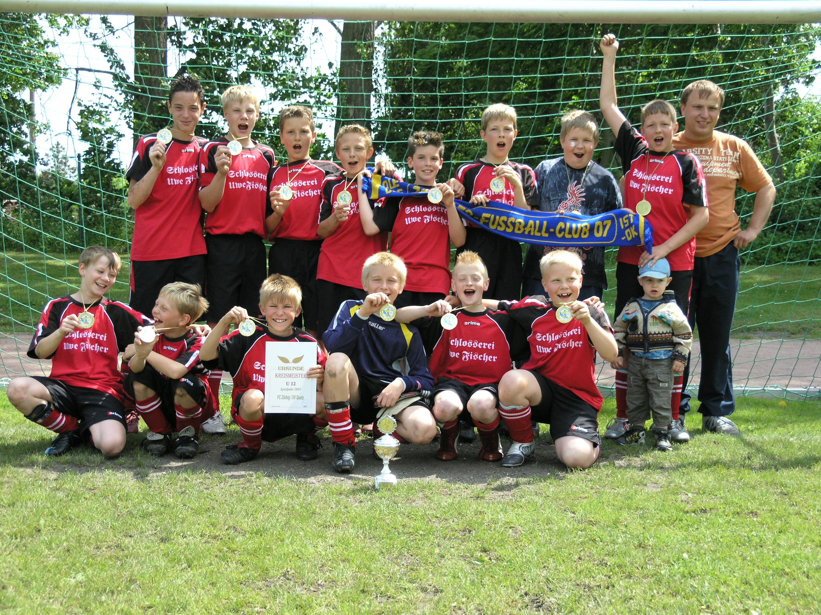 D-Jugend Kreismeister Saison 2004/05
