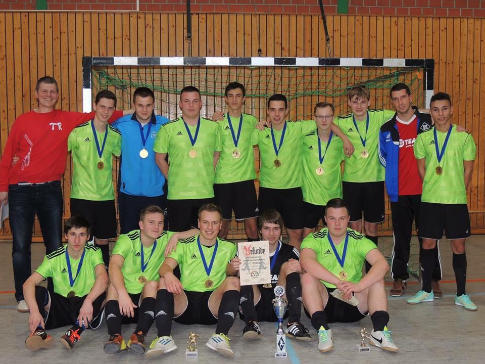 A-Jugend Hallenkreismeister Saison 2014/15