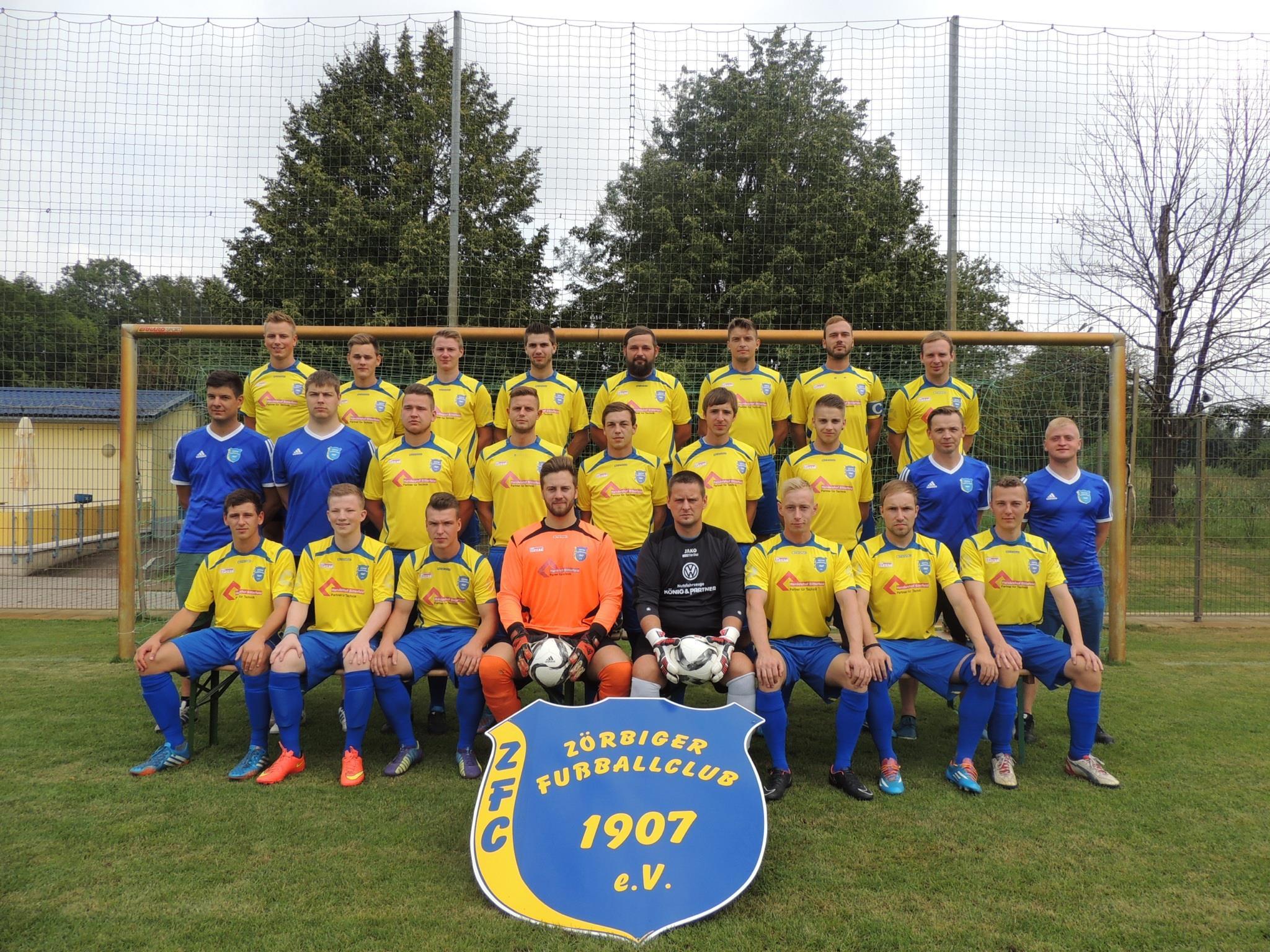 Erste Mannschaft Saison 2015/16