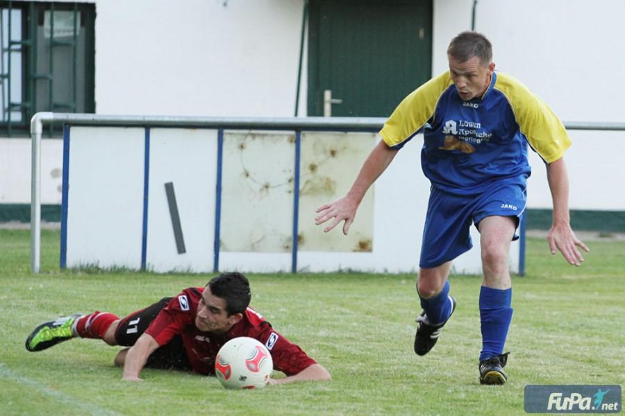 Freundschaftsspiel 2012 gegen Brachstedt Christian Helmecke