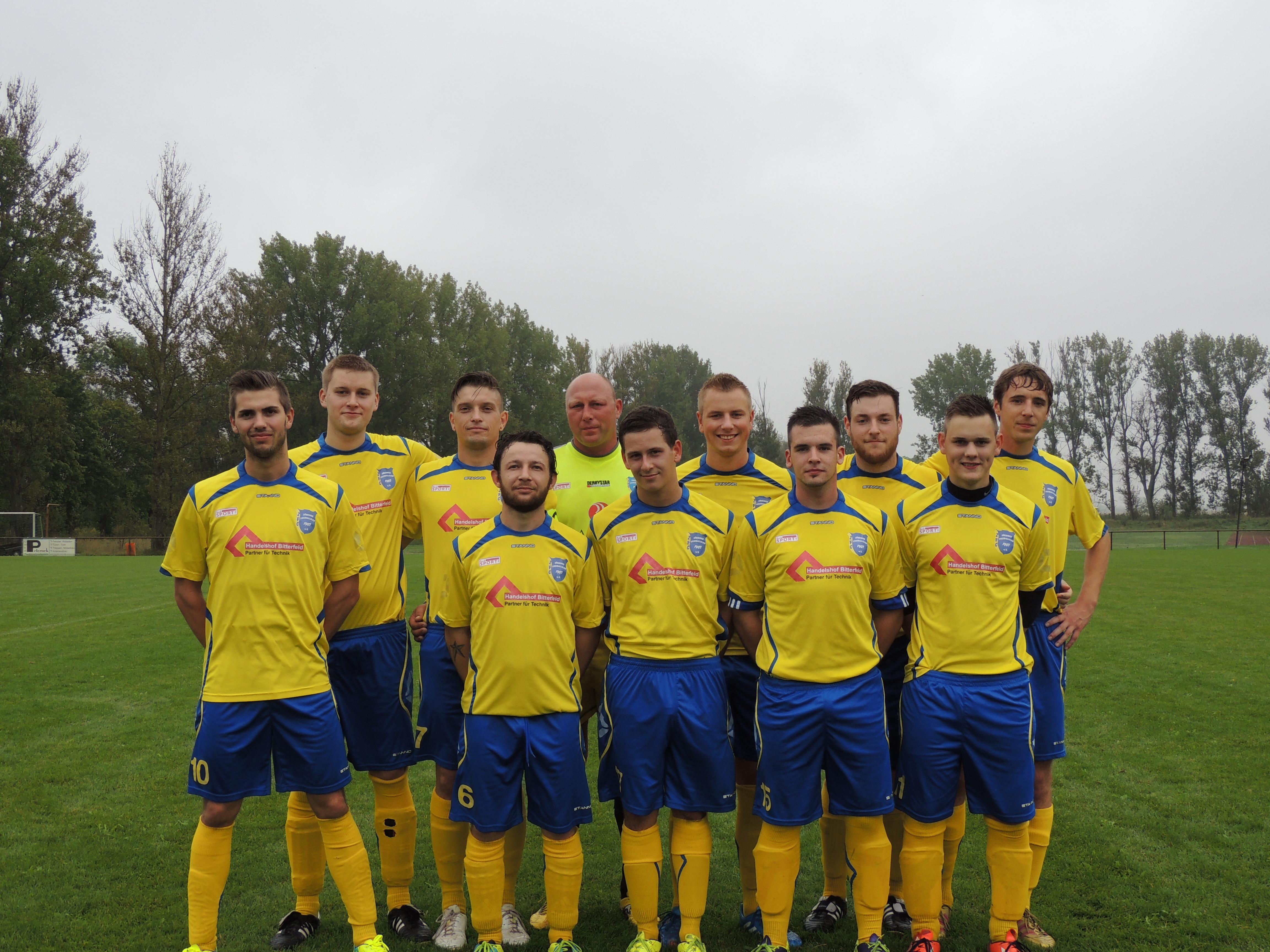 Punktspiel gegen Friedersdorf Saison 2014/2015