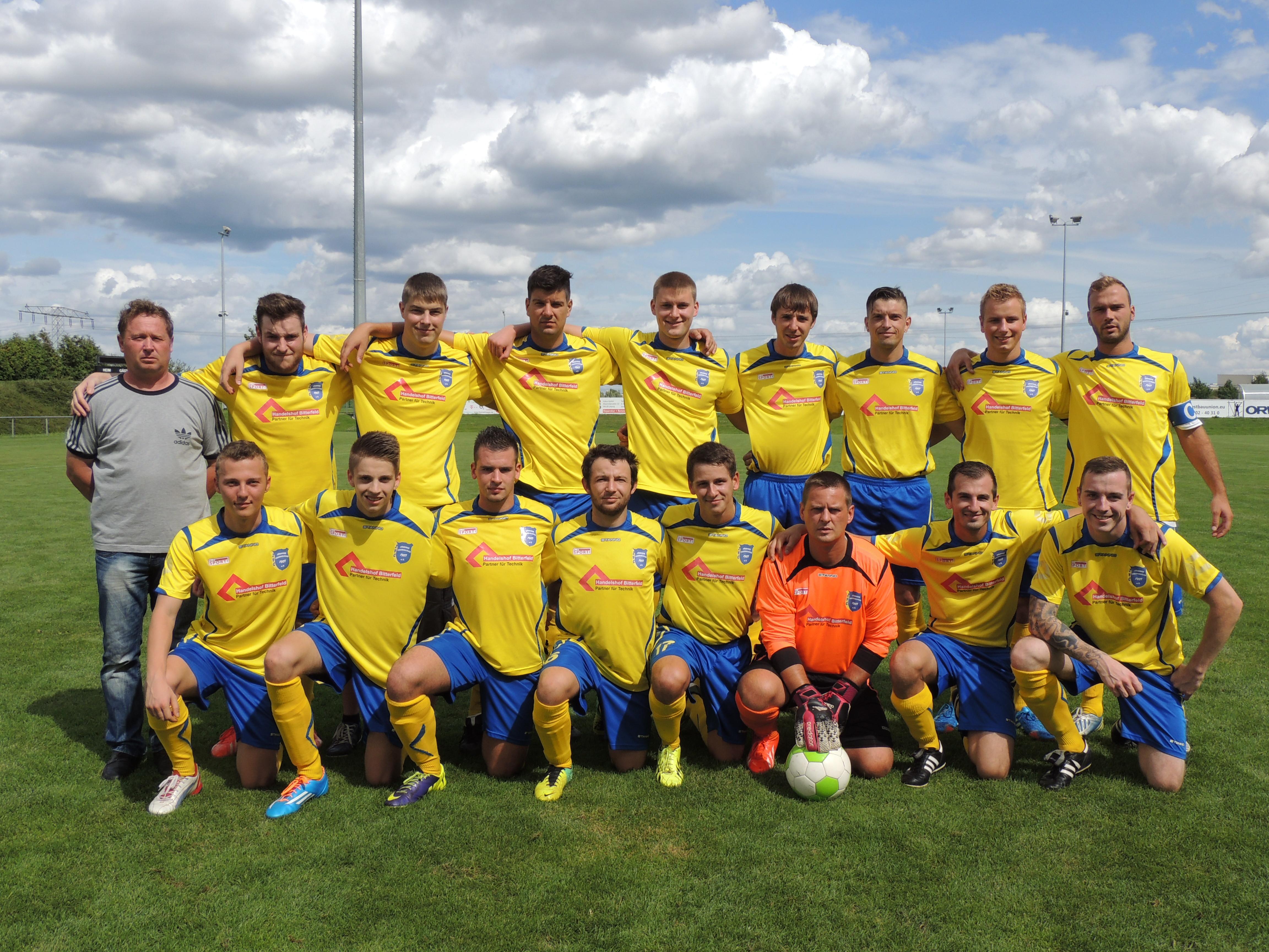 Erste Mannschaft Saison 2014/15