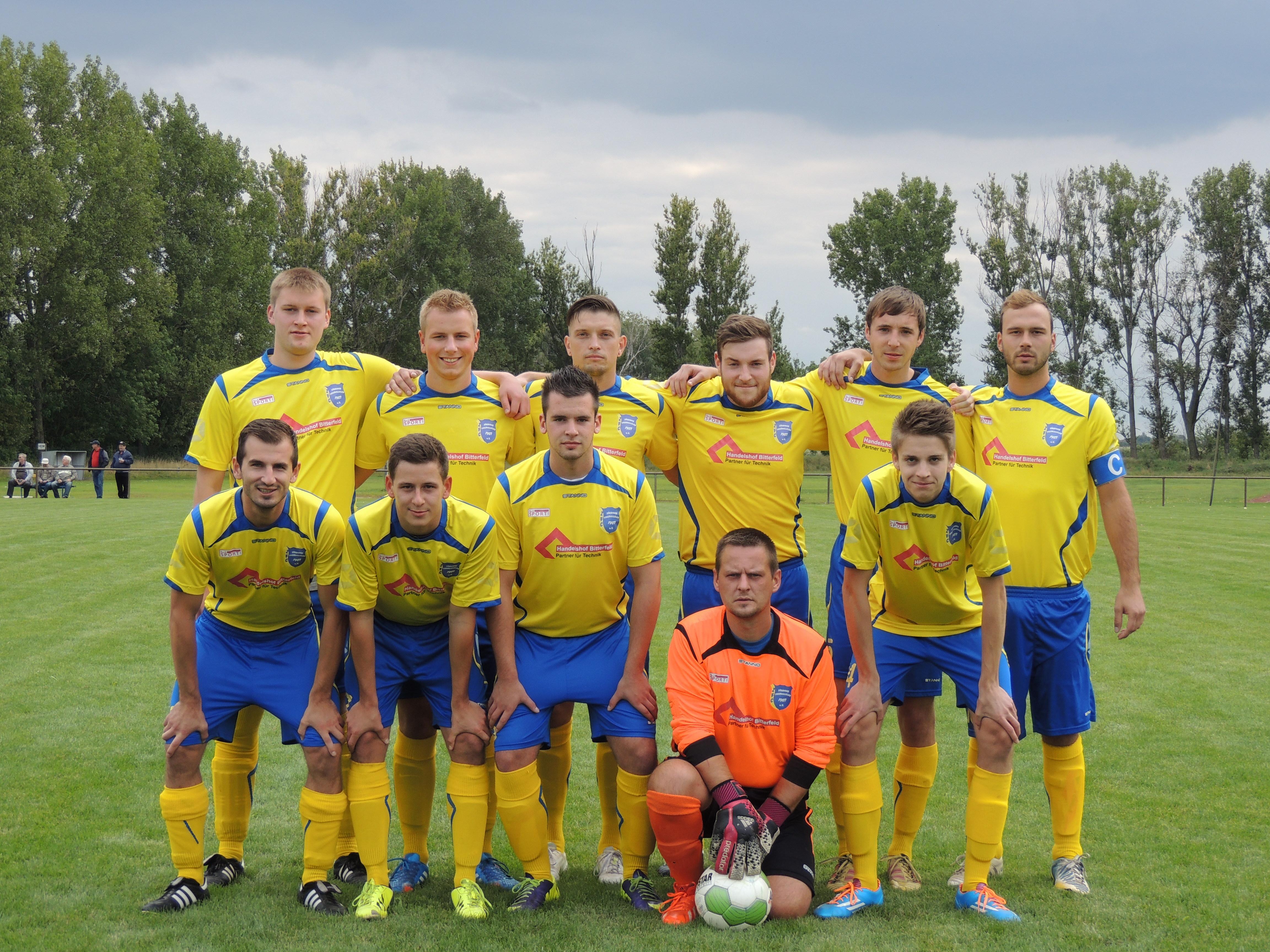 Vor dem Spiel gegen Quellendorf Saison 2014/15