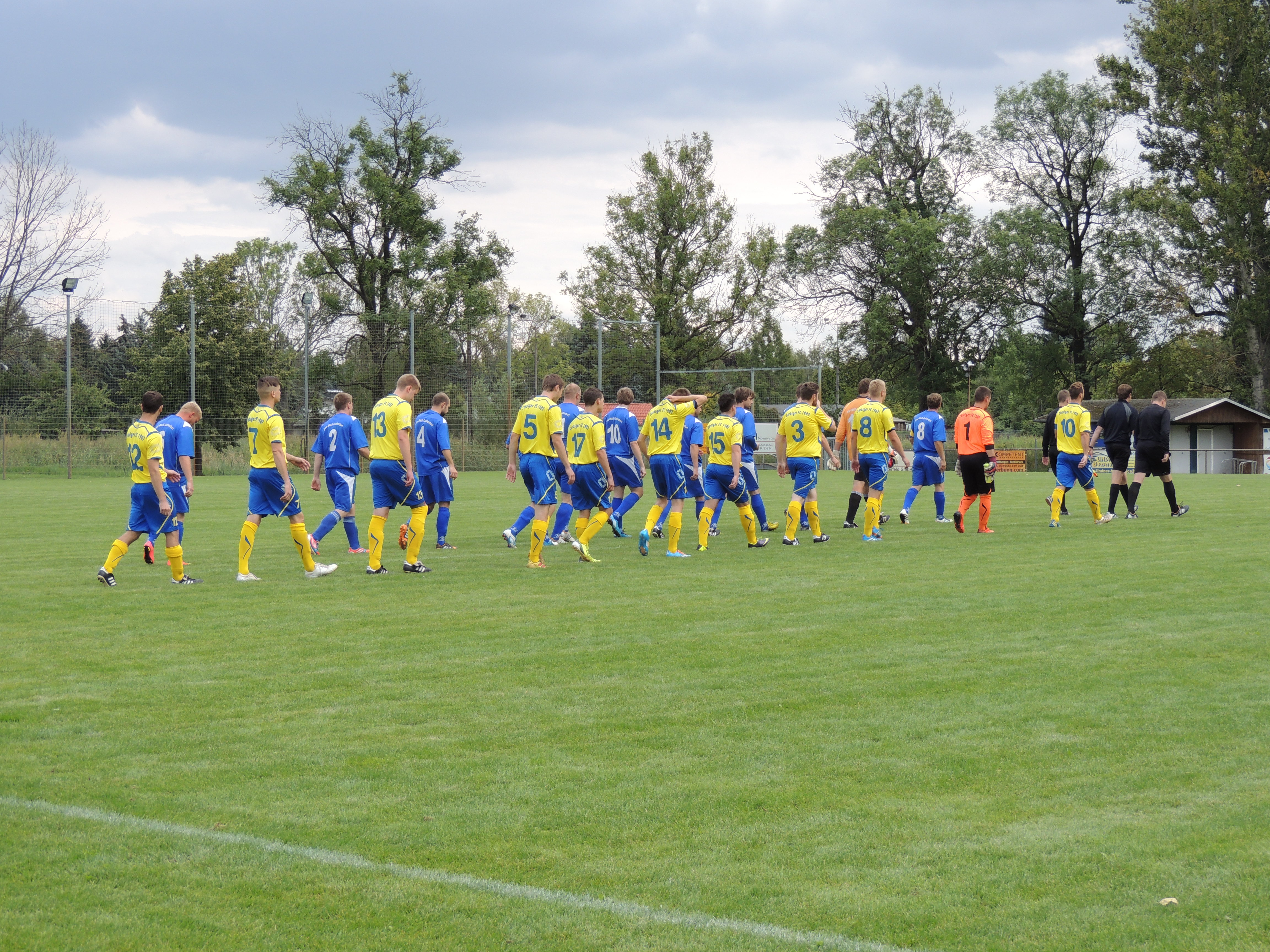 Spiel gegen Quellendorf Saison 2014/15