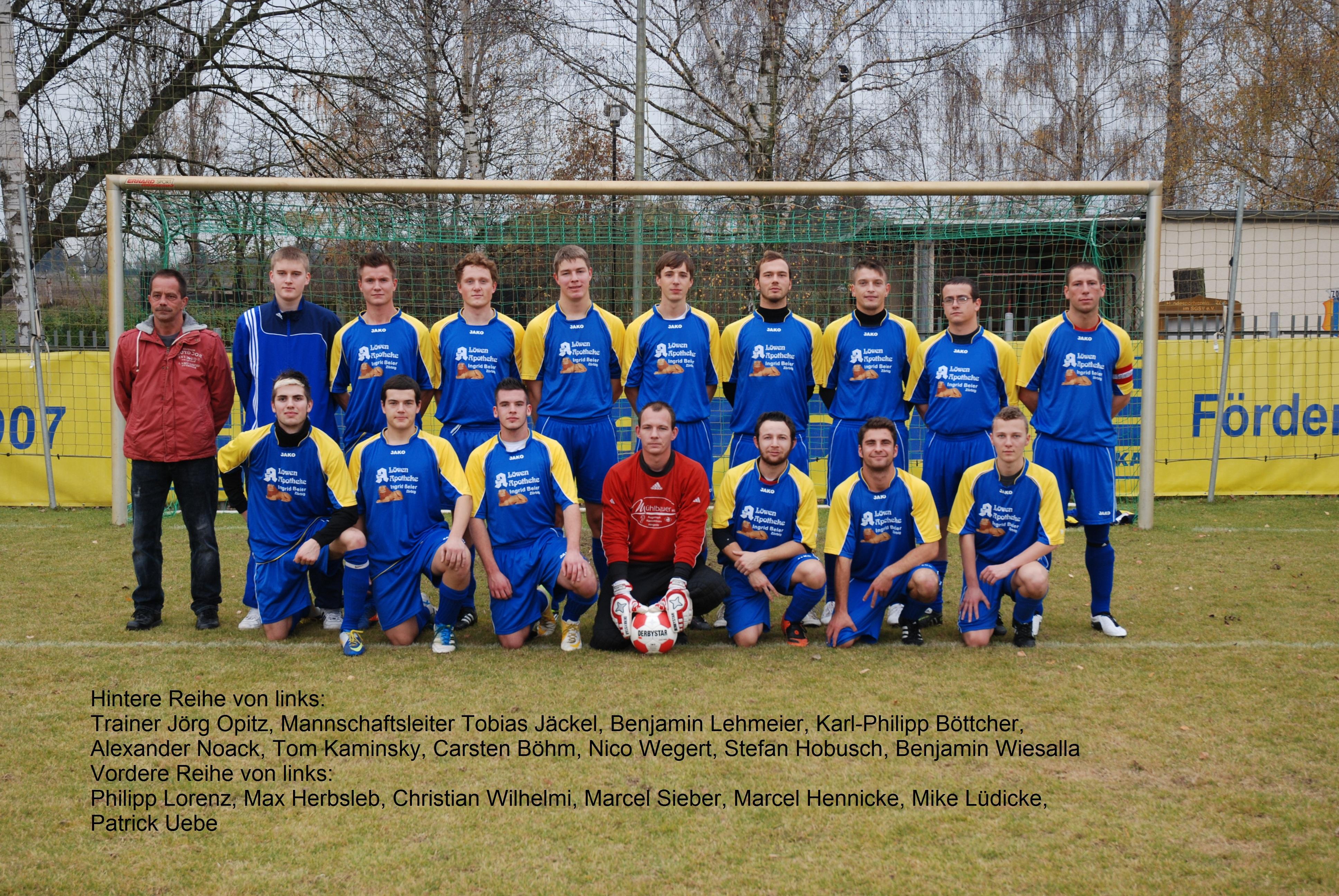 Erste Mannschaft Saison 2011/12