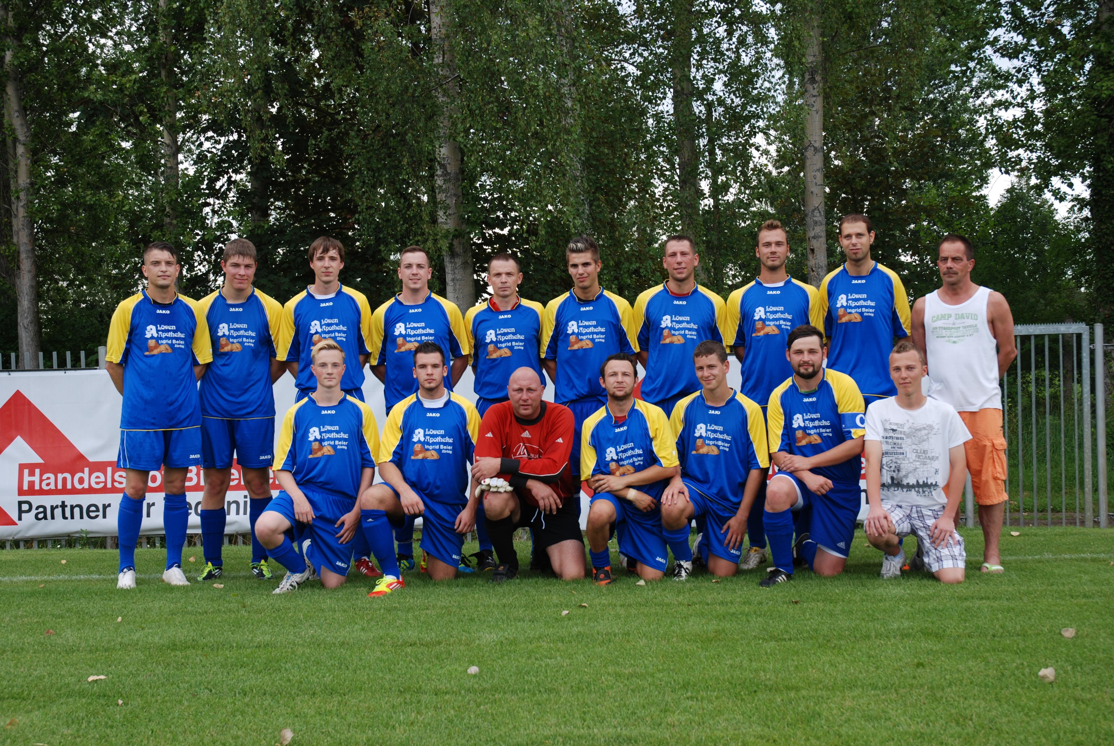 Erste Mannschaft Saison 2012/13