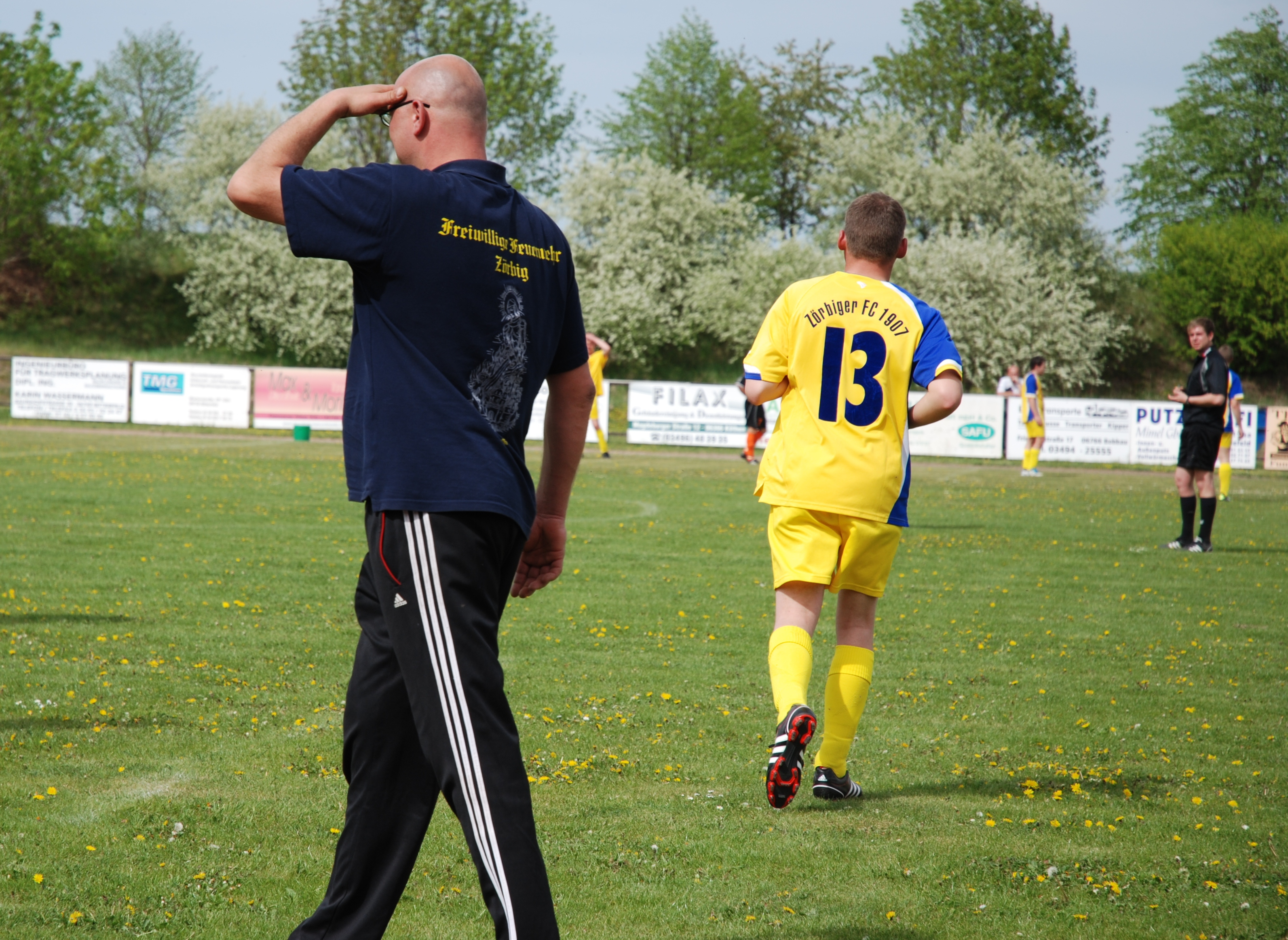 Szene aus dem Spiel Salzfurtkapelle gegen ZFC II Saison 2011/12