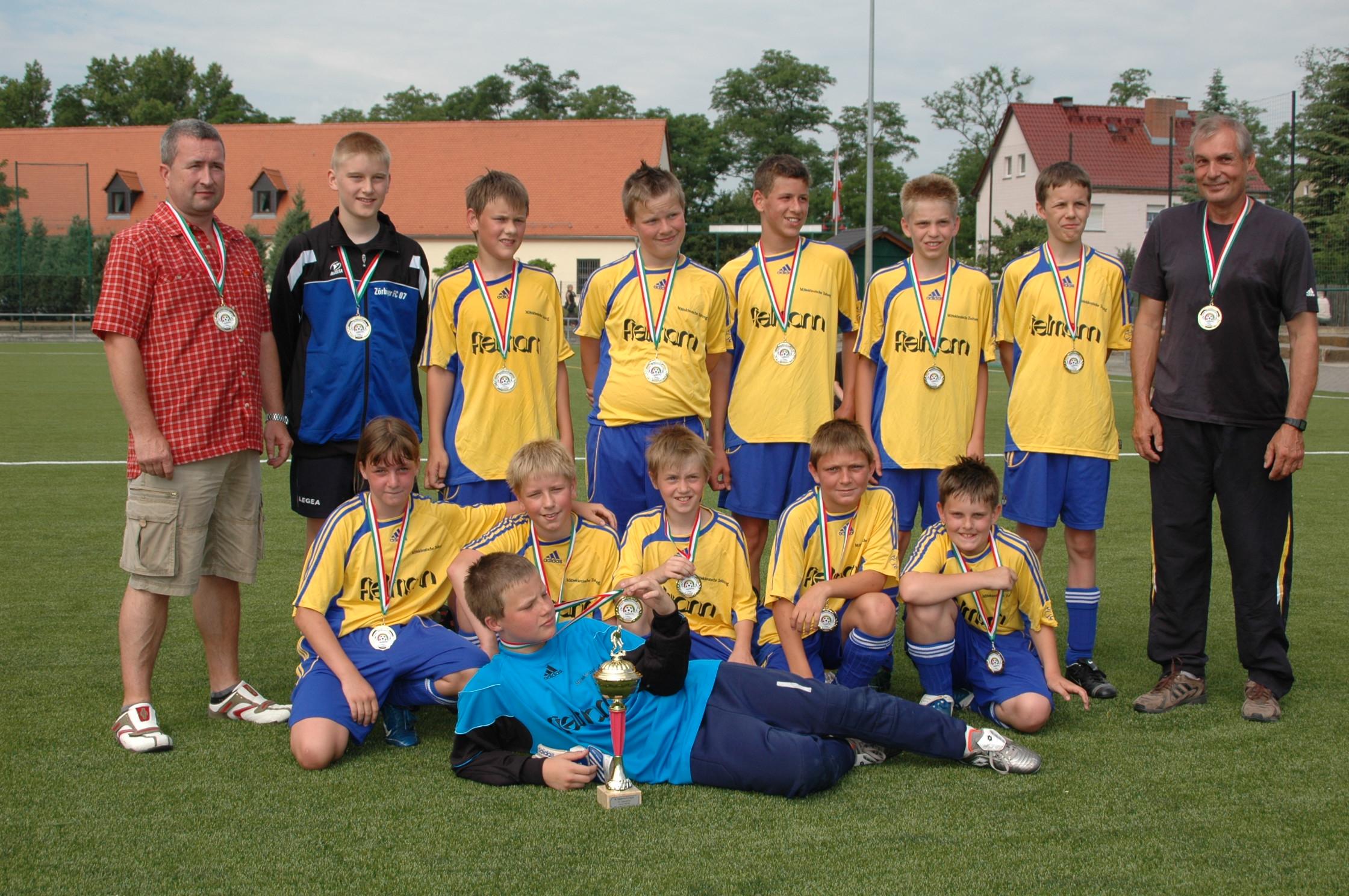 Pokalfinale D-Jugend Saison 2007/2008