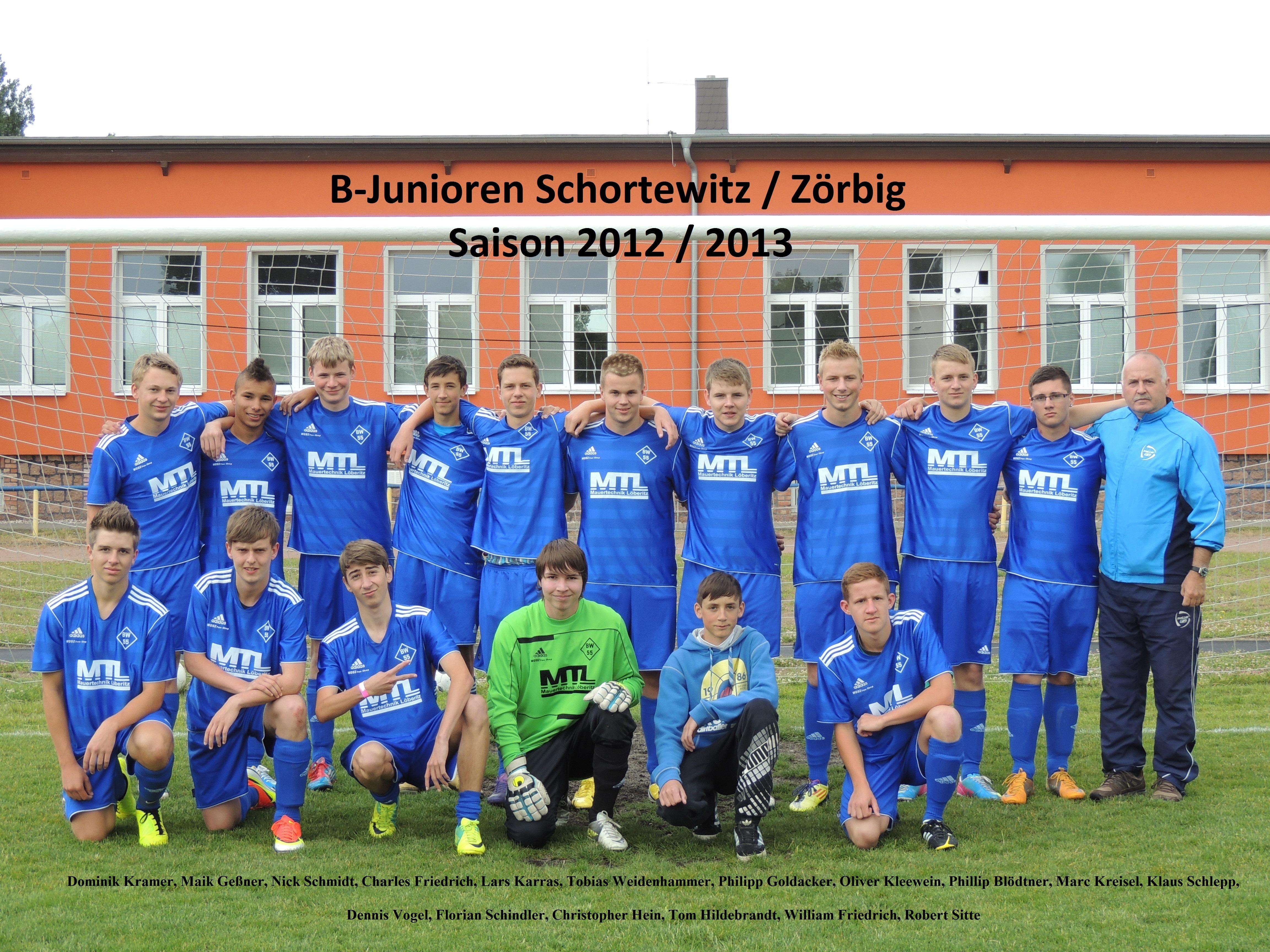 B-Jugend Saison 2012/13