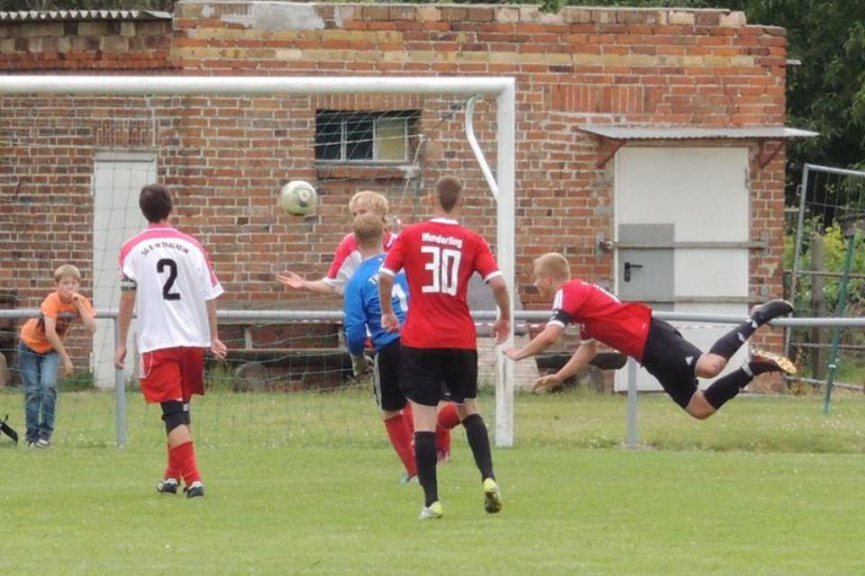 In der letzten Saison gewann die A-Jugend das Kreispokalfinale gegen Thalheim