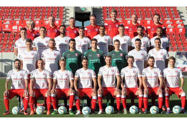 Mannschaftsfoto des Halleschen FC